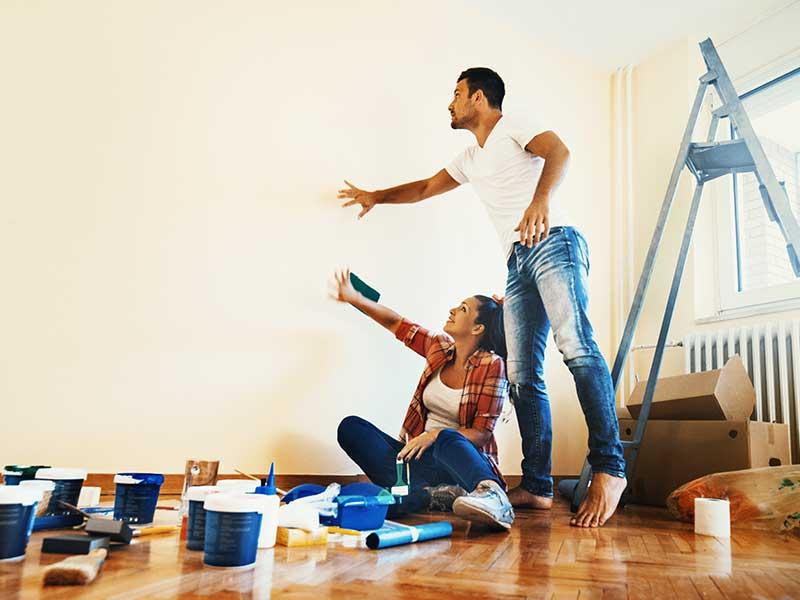 Wohnung liste erste Grundausstattung: Einkaufsliste