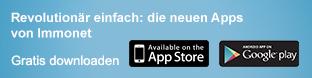 Die neuen Apps von Immonet
