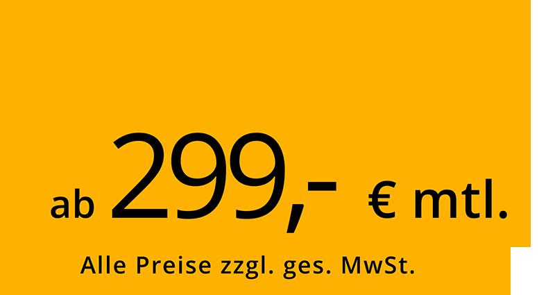 ab 299,-€ / mtl.