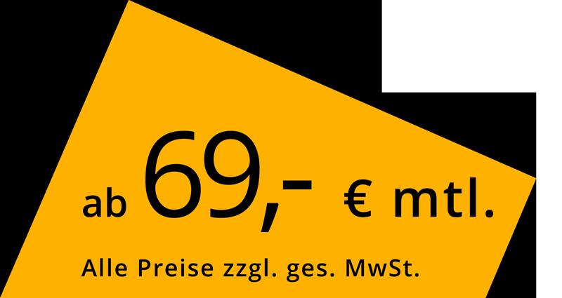 ab 69,-€ / mtl.