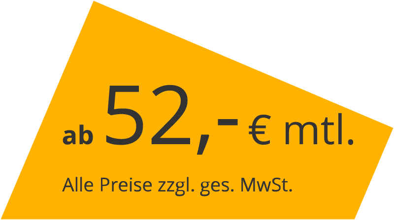 ab 52,-€ / mtl.