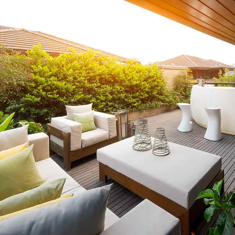 Berühmt Dachterrasse bepflanzen | Immonet @WI_85