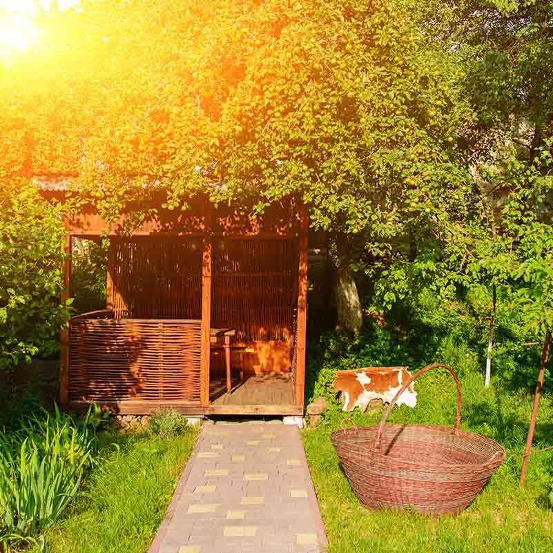 Gartenhaus Bauen Nachbar
