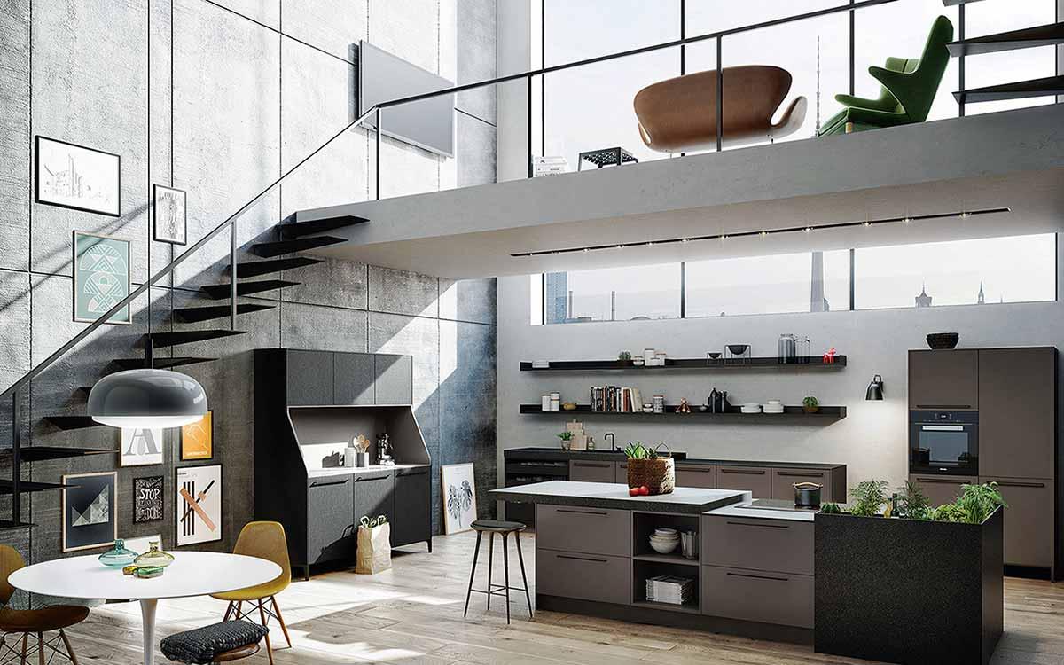 Die Offene Wohnküche Liegt Im Trend