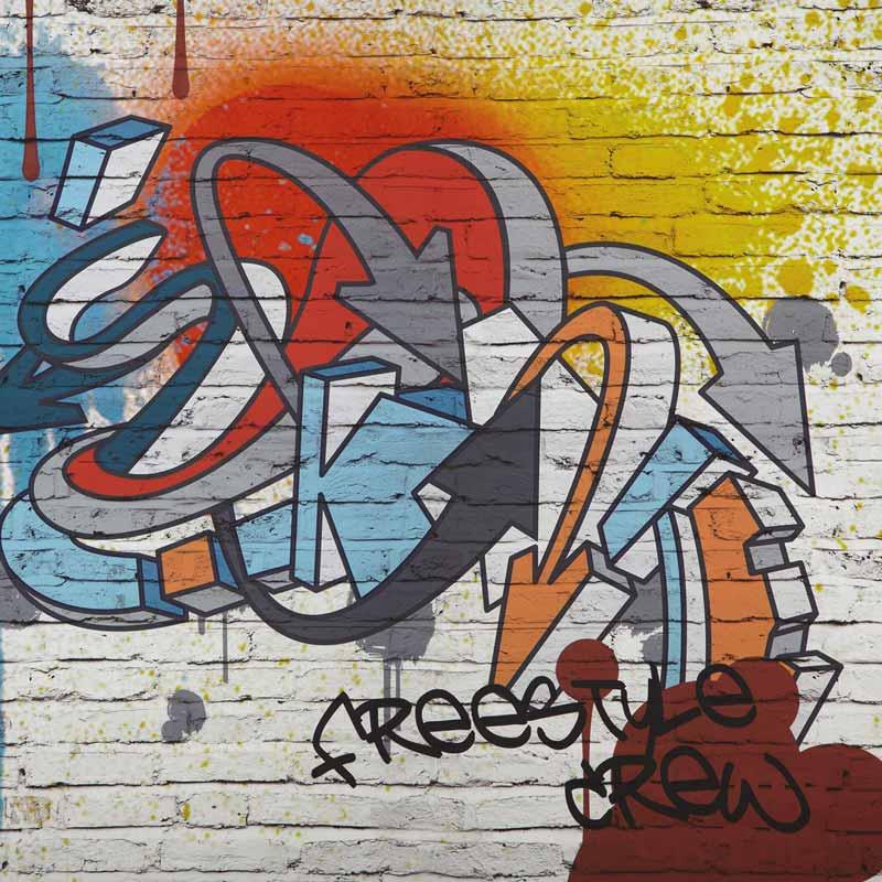 graffiti als wanddeko im kinderzimmer tipps von immonet. Black Bedroom Furniture Sets. Home Design Ideas