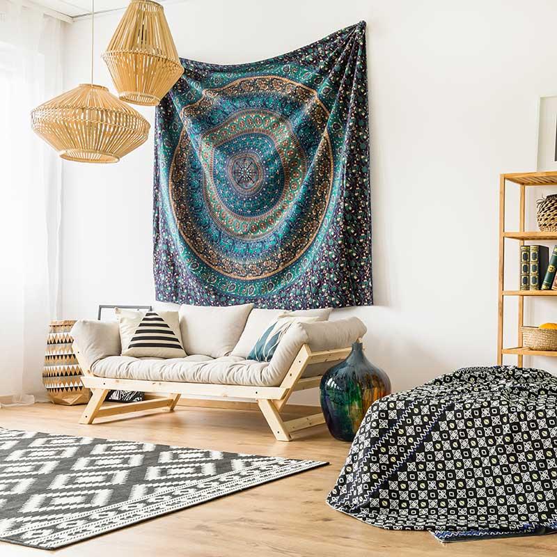 ethno stil. Black Bedroom Furniture Sets. Home Design Ideas
