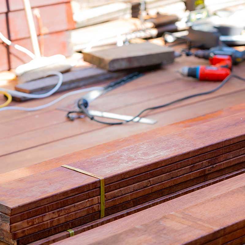 Holzboden auf der Terrasse verlegen   Immonet