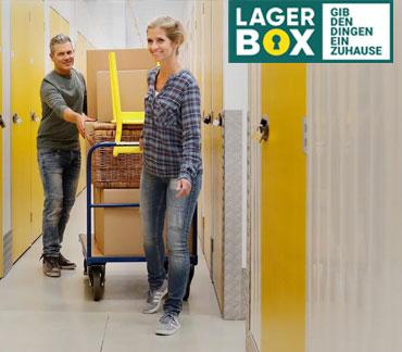 Bei LAGERBOX können Sie Ihr Hab und Gut flexibel einlagern