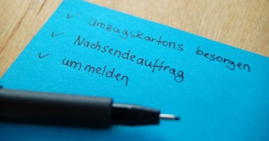 Alle Checklisten für Ihren Umzug | immonet.de