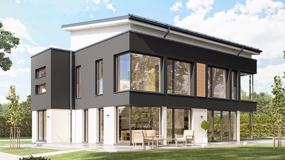 bien zenker fertighaus. Black Bedroom Furniture Sets. Home Design Ideas