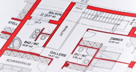 wohnung vermieten so erstellen sie einen grundriss. Black Bedroom Furniture Sets. Home Design Ideas