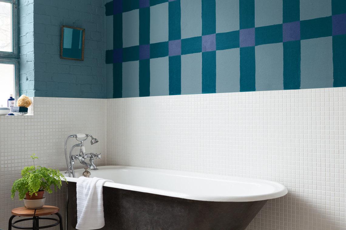 Latexfarbe: Abwaschbare Wandfarbe