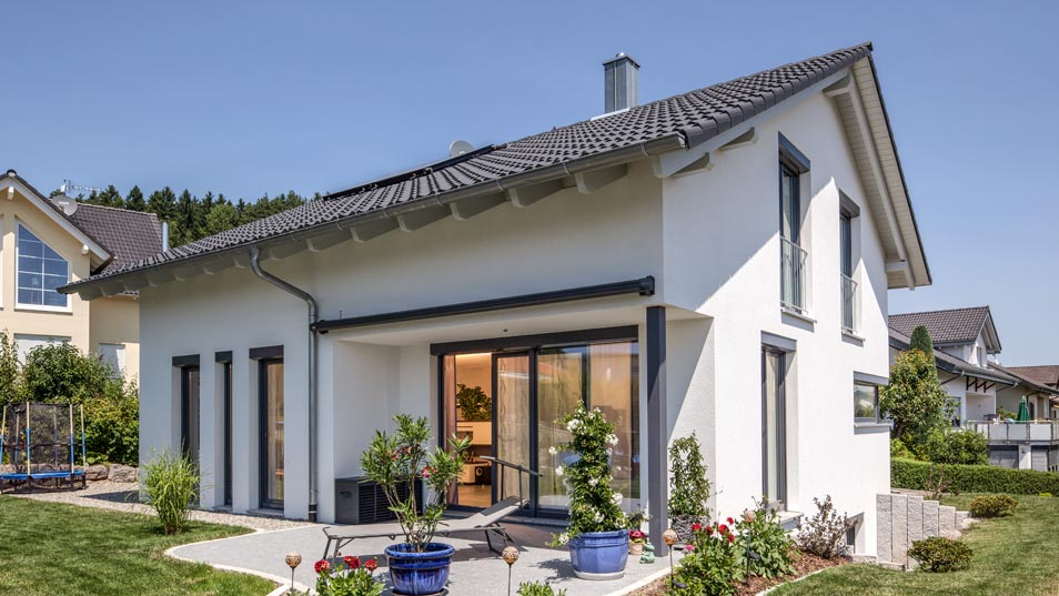Baumeister haus for Traditionell modern bauen