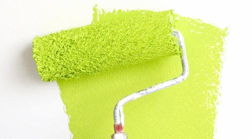 Wandfarben - Vier Farben für den Frühling