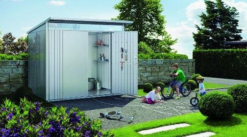 garten container, gartencontainer - moderne geräteschuppen, Design ideen