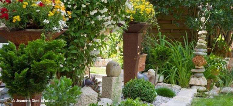 dekoration für den garten – gartendeko tipps bei immonet, Garten und erstellen