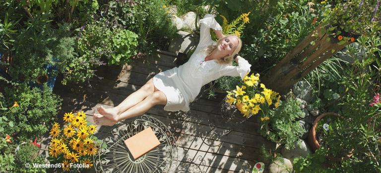Garten, Balkon Und Terrasse - Tipps Von Immonet Pflanzen Fur Balkon Kleingarten Dachterrasse