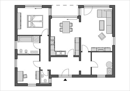 ytong bausatzhaus preiswert und sicher zum eigenen haus. Black Bedroom Furniture Sets. Home Design Ideas