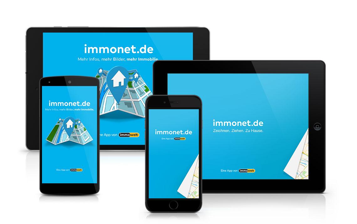 Mobile Suche - Apps von Immonet  Mobile Suche - ...