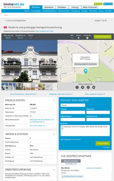 Immobilie Anbieten Einfach Und Preiswert Immonet De