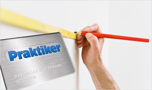 lineal 04 [Kostenlos!] Praktiker Kundenkarte bestellen und 10€ Gutschein Gartis dazu bekommen