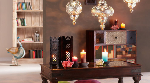 arabische deko wohnzimmer orientalisch einrichten. Black Bedroom Furniture Sets. Home Design Ideas
