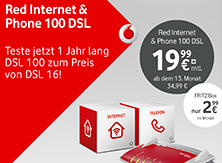 Red Internet & Phone 100 DSL