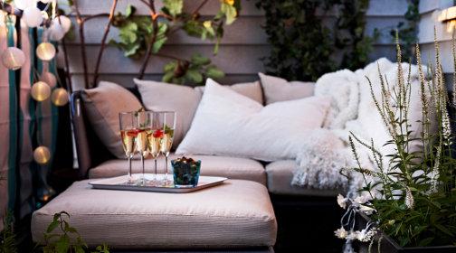 Balkon sichtschutz - Table de terrasse ikea ...